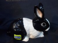 JBTA1BW John Beswick Adorables RSPCA Black and White Rabbit