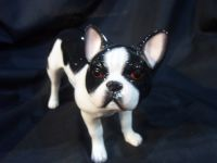 JBPP1BLK John Beswick Dogs & Cats - Pied French Bulldog