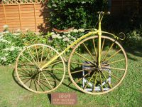 H184 - Original Old English Boneshaker approximate date of 1869