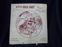 H514 27th Milk Race 1984 Placemat for the Winners banquet at the Imperial Hotel Blackpool