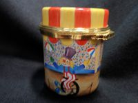 Elliot Hall Enamels Circus Lidded Box by Angela Roberts No 15 of 30