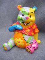 4026296 Romero Britto Creates Disney Winnie the Pooh  in Miniature