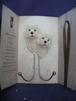 CA92092 Country Artists West Highland Terrier Wall Hook